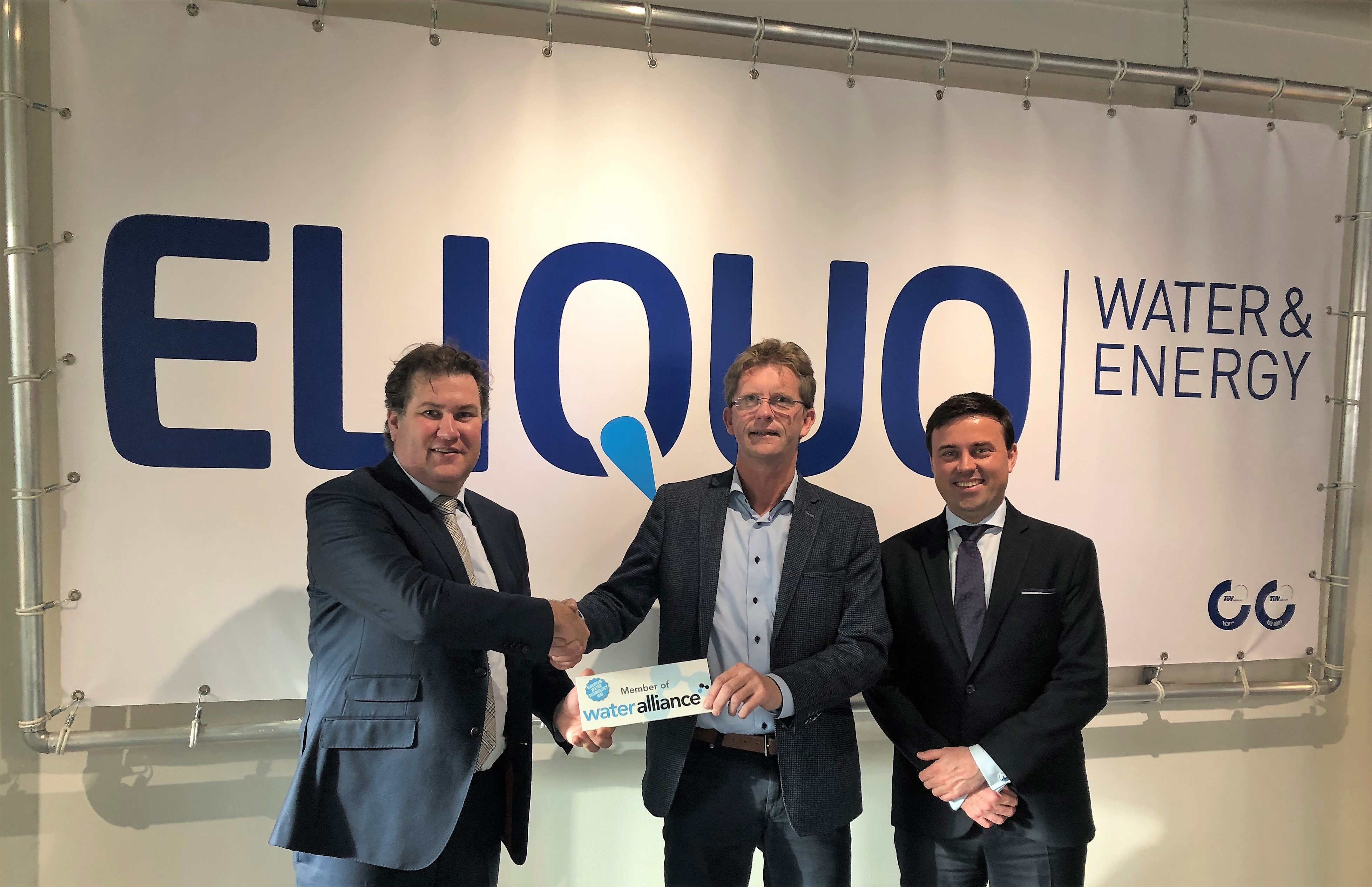 ELIQUO member of Dutch Water Alliance